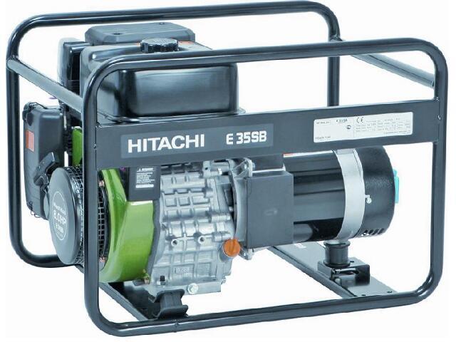 Agregat prądotwórczy 3,5kVa E35MB Hitachi