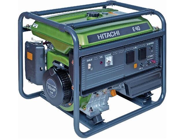 Agregat prądotwórczy 4,0kVa E40MA Hitachi