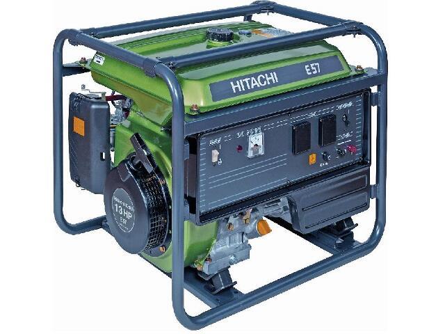 Agregat prądotwórczy 5,7kVa E57MA Hitachi