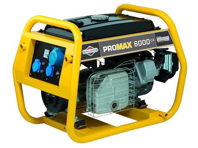 Agregat prądotwórczy Promax 6000EA Briggs&Stratton