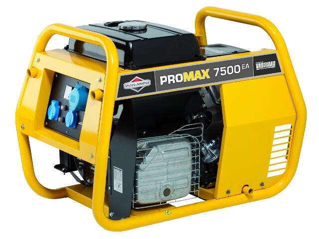 Agregat prądotwórczy Promax 7500EA Briggs&Stratton
