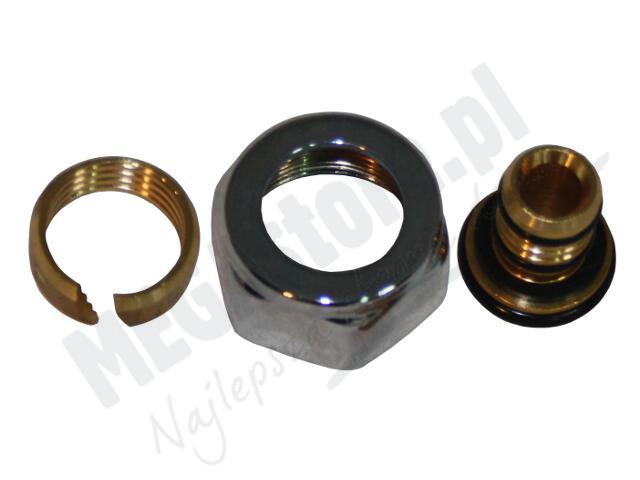 Złączki zaciskowe Cylinder do Pex 16x2mm (2szt) Carlo Poletti