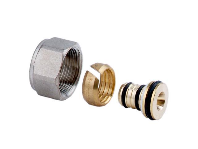 Złączki zaciskowe M24x19 do rur wielowarstwowych 16x2mm (2szt) Ferro