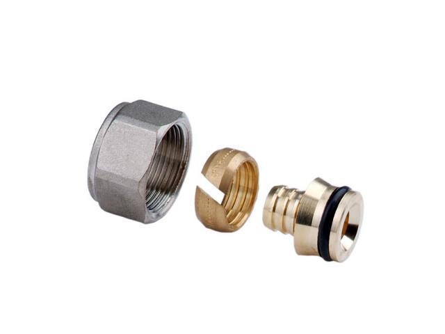 Złączki zaciskowe M24x19 do rur z tworzywa 16x2mm (2szt) Ferro