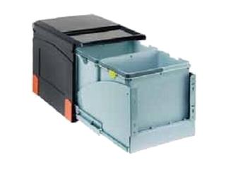 Sortownik do odpadów Cube 41 wysuwanie z frontem szafki 134.0055.274 Franke