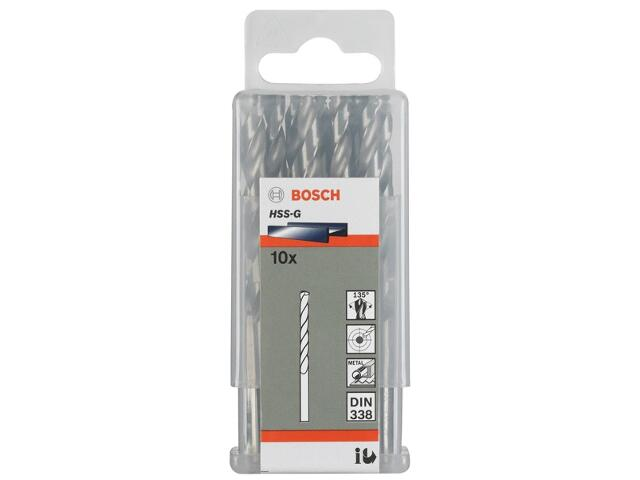 Wiertło do metalu HSS-G Standard DIN 338 7,6x75x117mm 10szt. 2608585504 Bosch