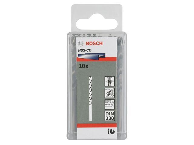 Wiertło do metalu HSS-Co Standard DIN 338 4,8x52x86mm 10szt. 2608585884 Bosch