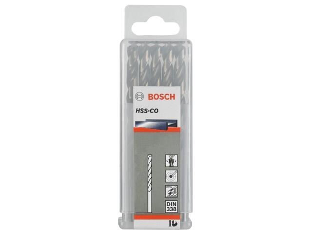 Wiertło do metalu HSS-Co Standard DIN 338 9x81x125mm 5szt. 2608585896 Bosch