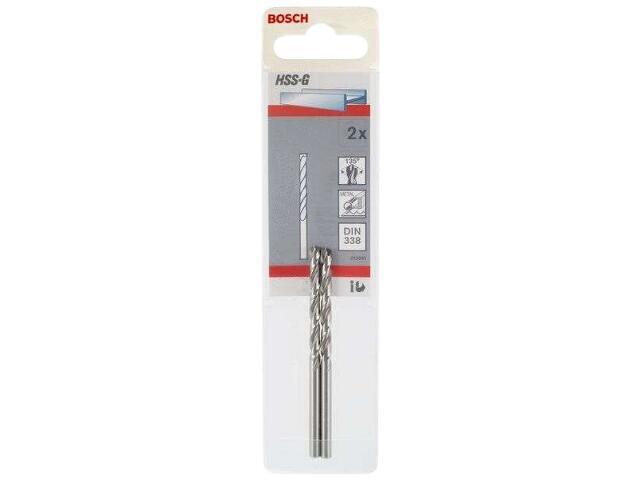 Wiertło do metalu HSS-G Standard DIN 338 3,3x36x65mm 2szt. 2608585913 Bosch