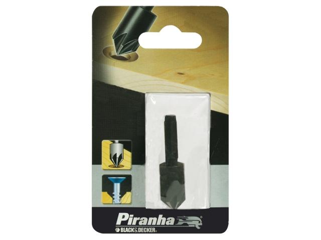 Wiertło do metalu pogłębiacz HSS 12mm Piranha