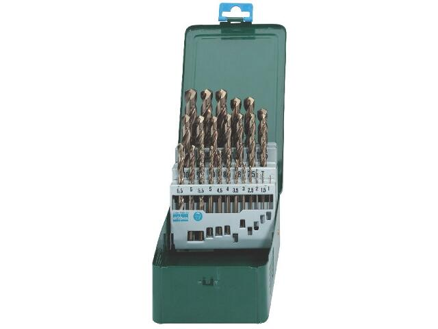 Zestaw wierteł do metalu HSS-CO w kasecie 25szt. Metabo