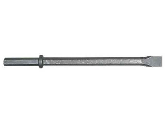 Dłuto do młotów płaskie chwyt 6-kątny 24x370x230mm Metabo