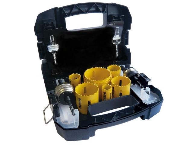 Zestaw koronek wiertniczych elektryka 11cz. DT8276 DeWALT