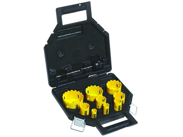 Zestaw koronek wiertniczych hydraulika 13cz. DeWALT