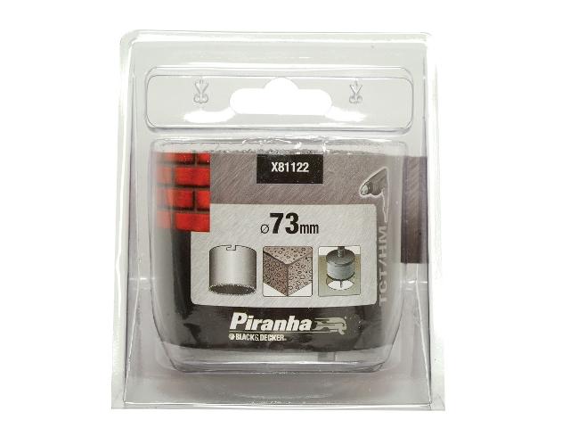 Piła otwornica 73mm z węglikiem X81122 Piranha