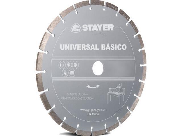 Diamentowa tarcza tnąca Universal Basic 350x25,4mm Stayer