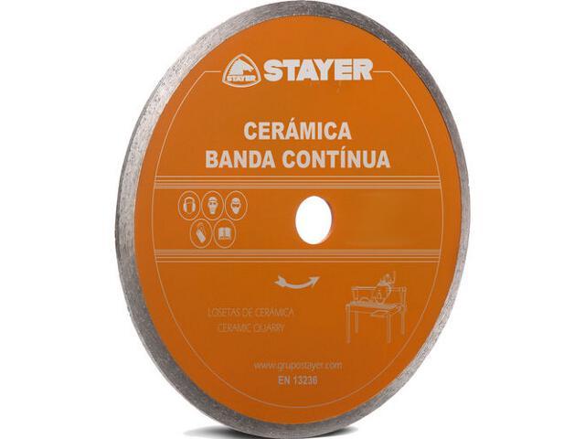 Diamentowa tarcza tnąca CERAMICA 250x25,4mm Stayer