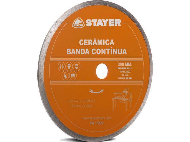Diamentowa tarcza tnąca CERAMICA 300x25,4mm Stayer