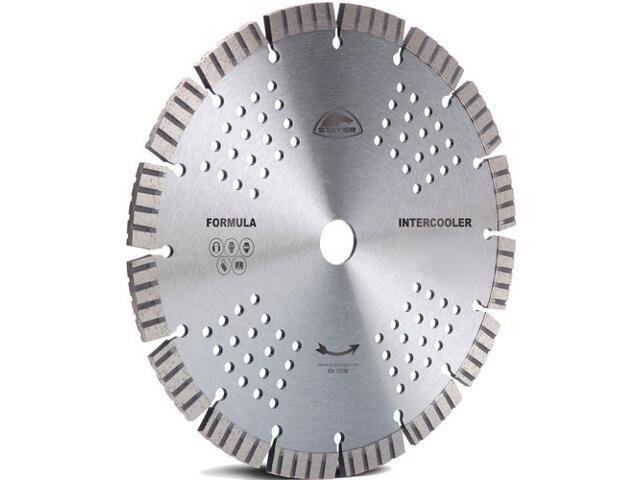 Diamentowa tarcza tnąca Formula Intercooler 125x22,2mm Stayer