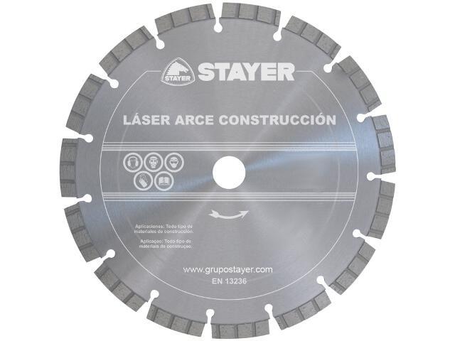 Diamentowa tarcza tnąca Laser Arce Granit MN93C47 125x22,2mm Stayer