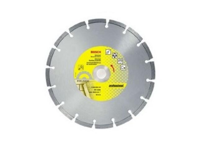 Diamentowa tarcza tnąca D350X25,4mm BUD PE, 2608600733 Bosch