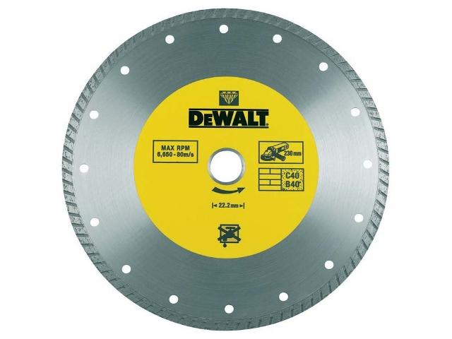 Diamentowa tarcza tnąca 115x22,2mm DT3702 DeWALT
