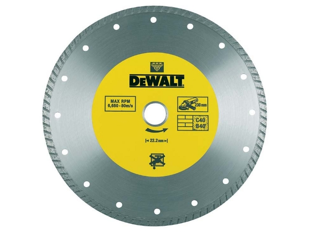 Diamentowa tarcza tnąca 180x22,2mm DeWALT