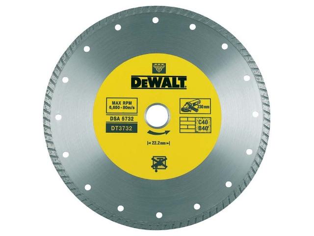 Diamentowa tarcza tnąca 230x22,2mm DeWALT