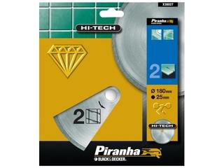 Diamentowa tarcza tnąca X38027 180x25 Piranha