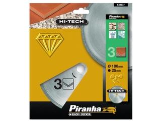 Diamentowa tarcza tnąca X38037J 180x25 Piranha