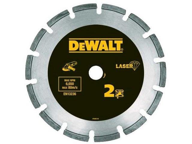 Diamentowa tarcza tnąca 180x22,2mm DT3772 DeWALT