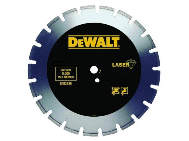 Diamentowa tarcza tnąca 350x25,4mm DT3785 DeWALT