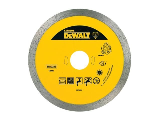 Diamentowa tarcza tnąca 110x20mm DT3715 DeWALT