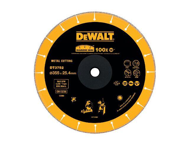 Diamentowa tarcza tnąca 355x25,4mm DT3752 DeWALT