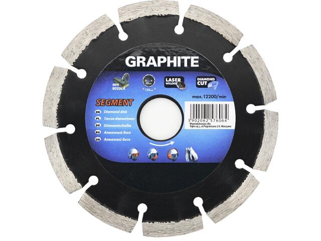 Diamentowa tarcza tnąca 230mm Graphite