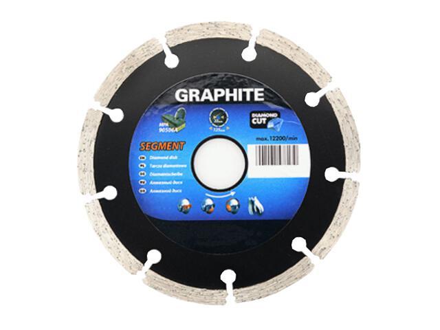 Diamentowa tarcza tnąca 200x25,4mm segmentowa Graphite