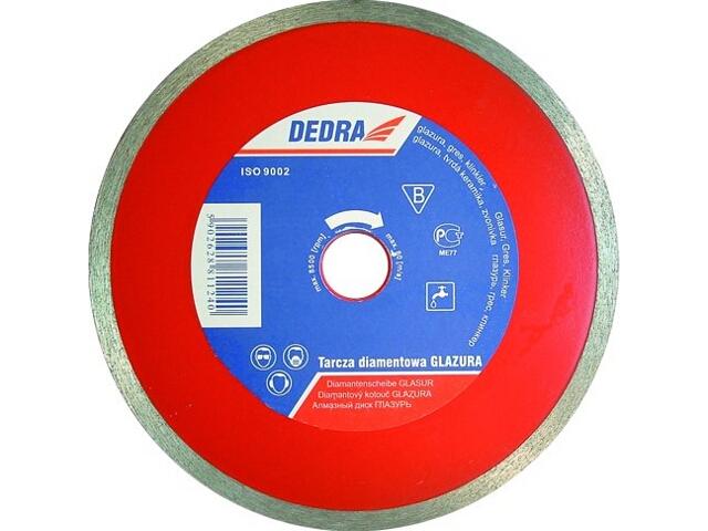 Diamentowa tarcza tnąca 250mm/25,4 H1126E Dedra