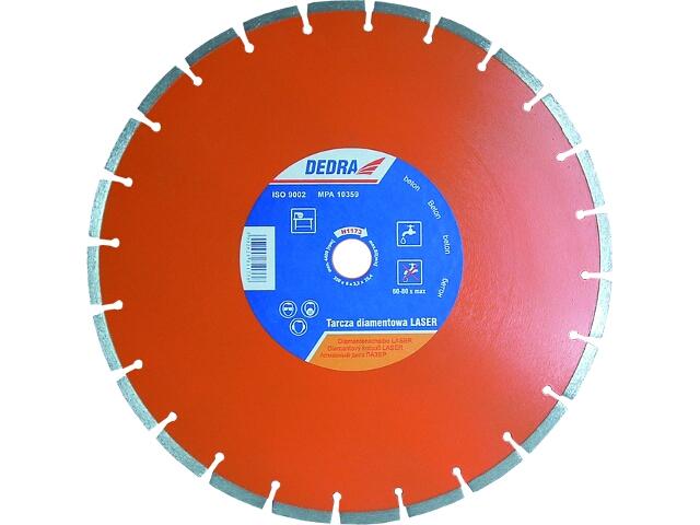 Diamentowa tarcza tnąca Laser BETON 350/25,4 H1173 Dedra