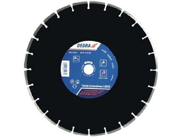 Diamentowa tarcza tnąca Laser ASFALT 350/25,4 H1183 Dedra