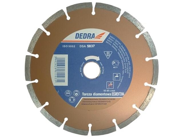 Diamentowa tarcza tnąca segmentowa 250/25,4 H1111E Dedra