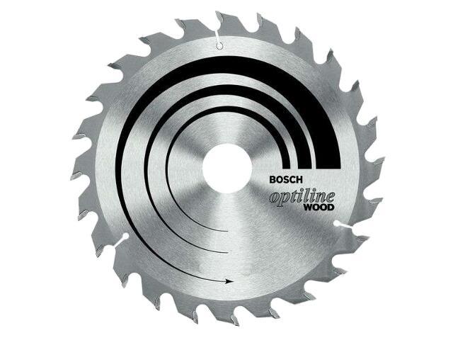 Piła tarczowa Optiline Wood WZ 165x30/20mm 24 zęby 2608640602 Bosch