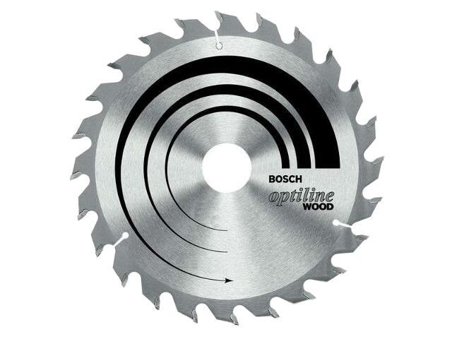 Piła tarczowa Optiline Wood WZ 210x30mm 24 zęby 2608640621 Bosch