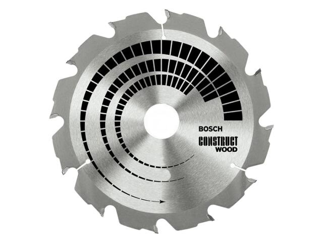 Piła tarczowa Construct Wood FWF 160x20/16mm 12 zębów 2608640630 Bosch