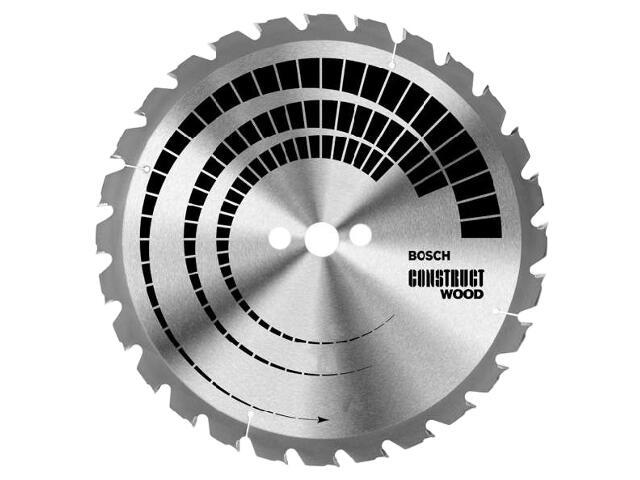 Piła tarczowa Construct Wood FWF 350x30mm 24 zęby 2608640692 Bosch