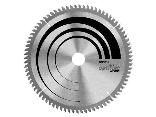 Piła tarczowa Optiline Wood WZ/N 254x30mm 24 zęby 2608640434 Bosch