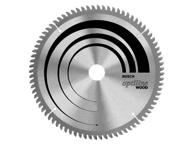 Piła tarczowa Optiline Wood WZ/N 254x30mm 60 zębów 2608640436 Bosch