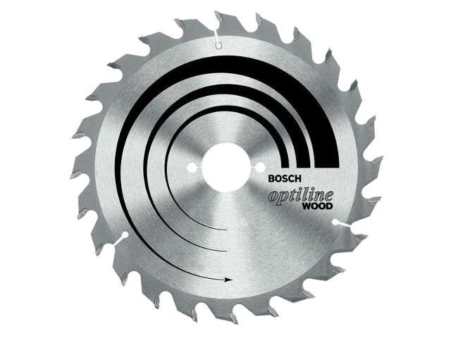 Piła tarczowa Optiline Wood WZ 160x20/16mm 24 zęby 2608641171 Bosch