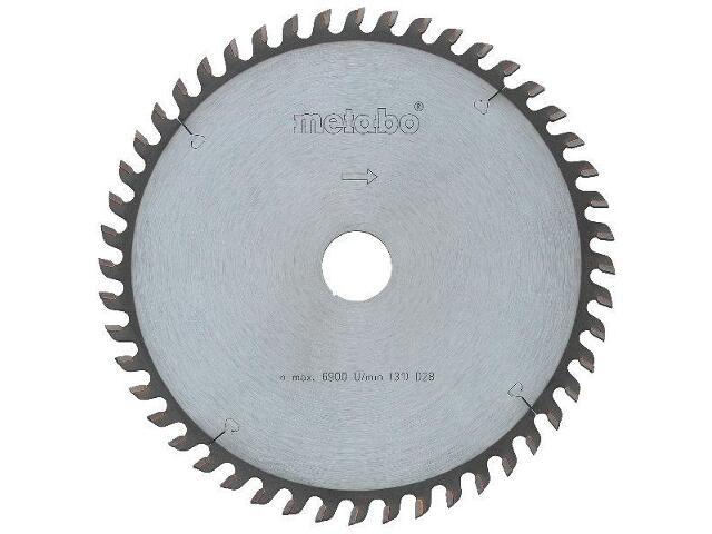 Piła tarczowa HW/CT 190x2,2/1,4x30 Z=48 ZP 15° precision cut Metabo