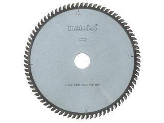 Piła tarczowa HW/CT 250x2,8/2x30 Z=80 ZP/ZT 5° ujemny multi cut Metabo