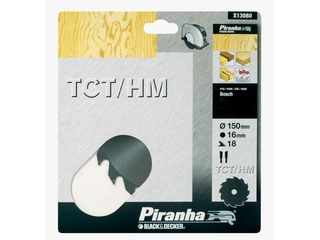 Piła tarczowa 150x16x18 z węglikiem TCT/HM Piranha
